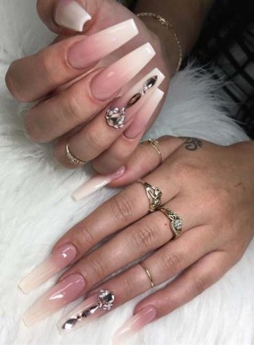 Natural Looking Ombre Nail Art Designs in 2018