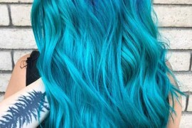 Nightfall Deep Blue Hair Colors for 2018