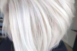 Platinum Blonde Bob Haircuts in 2018