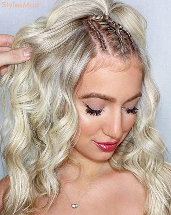 Platinum Blonde Hair Color Trends