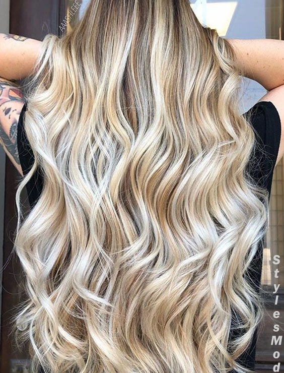 Cutest Style Of 2018 Balayage Hair Colors Ideas For Long Hair