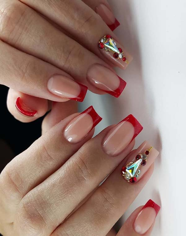 Hottest Red Nail Art And Designs For Ladies 2018 Stylesmod