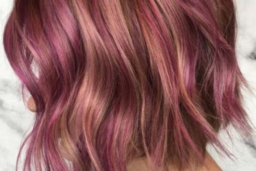 Rose Gold Hair Color Shades for 2018