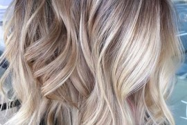 Stunning Blends Of Blonde Balayage Hair Colors for 2018