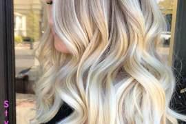 Light Golden & White Hair Color Idea