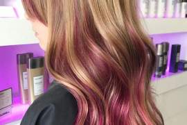 Perfect Combination of Brown to Pink Hair Color Ideas for 2018