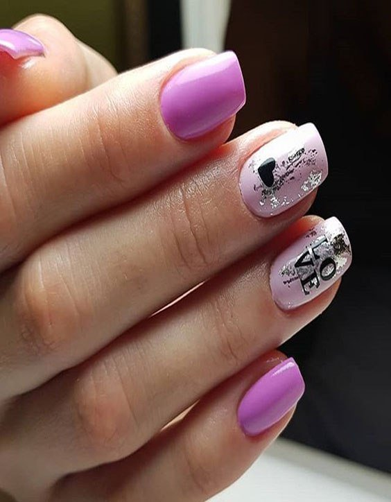 Easy Simple Nail Art Ideas That Are Really Cute For 2018 Stylesmod