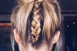 Prettiest Ideas of Braided Bun Hairstyle To Wear ASAP In 2018