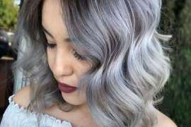 Adorable Styles of Grey Hair Color Ideas for Superior Girls & Women