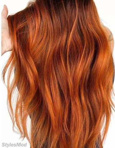 Copper Red Hair Color Shades for Stylish Look In 2018