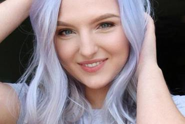 Icy Blonde Purple Hair Color Trends You'll want to Wear