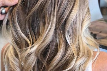 Natural Blonde Balayage Hair Color Trends for 2018