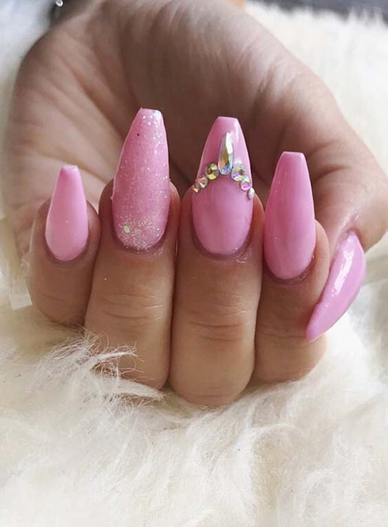Cutest Pink Nail Art Designs And Images In 2018 Stylesmod