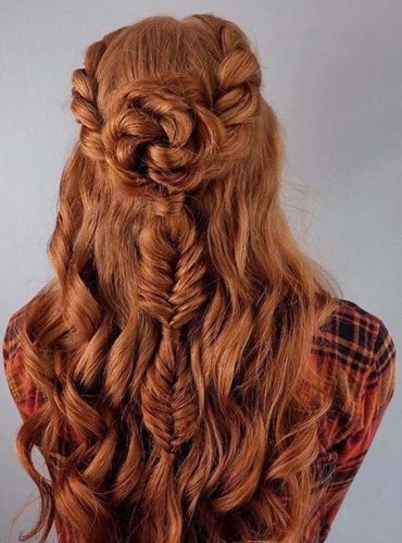 Pretty Half Up Hairstyles You Must Try in 2018