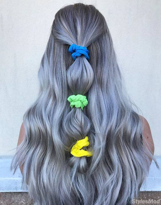 Modern Radiant Ice Baby Lights Hair Color Trends for 2018