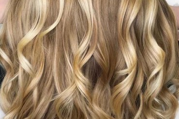 Shining Golden Blonde Hair Color Trends for 2018