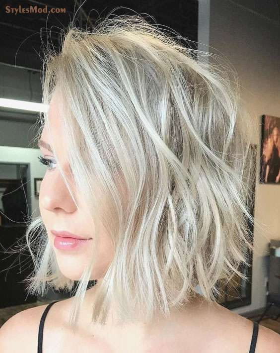 Stunning Ideas of Short Silver Hairstyles for Thin Hair In 2018 ...