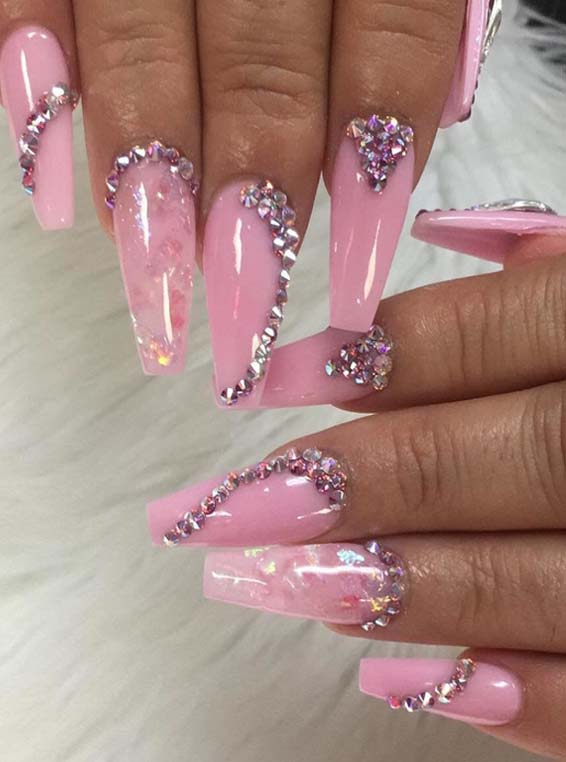 Strawberry Smoothie Nail Designs You Must Try in 2018