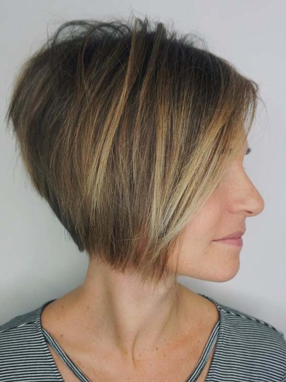 Stunning Short Haircuts for Fine Hair in 2018
