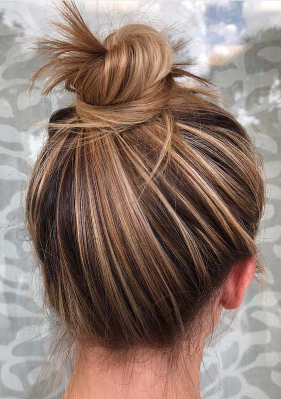 Top Knot Bun Styles You Must Try in 2018