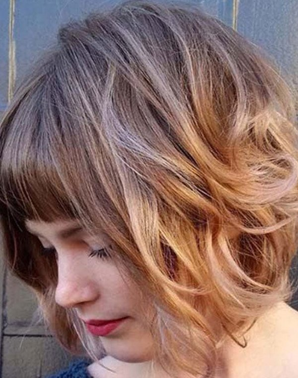 Wavy Bob Haircuts for Women 2018