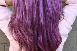 Wonderful Purple Hair Color Trends in 2018