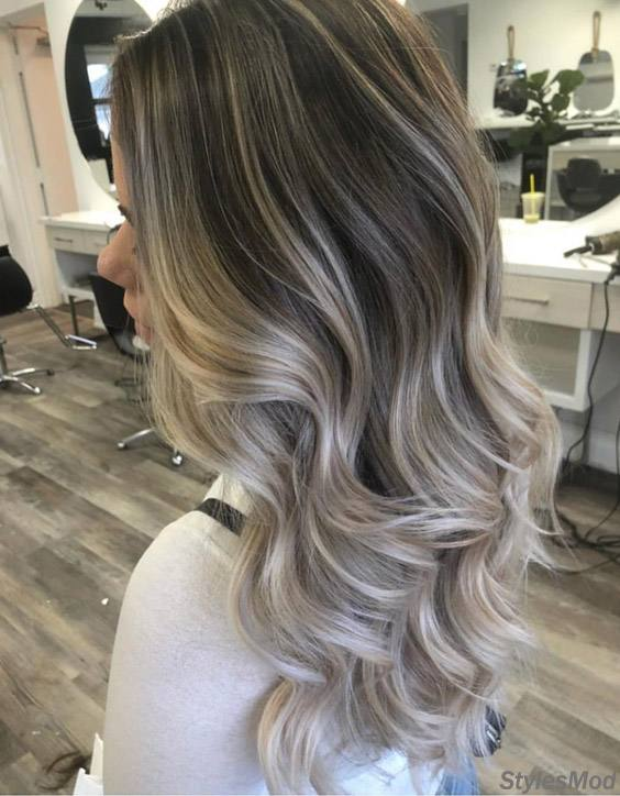 Mind Blowing Ash Blonde Highlights Styles For 2018 Stylesmod