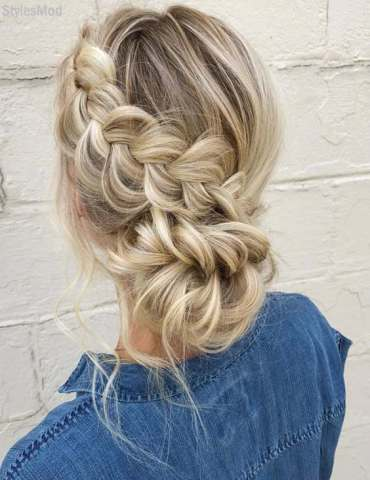 Delightful Braided Hairstyles for This Weekend In 2018