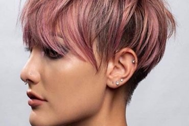 Amazing Ways to wear the Pink Short Haircuts In 2018