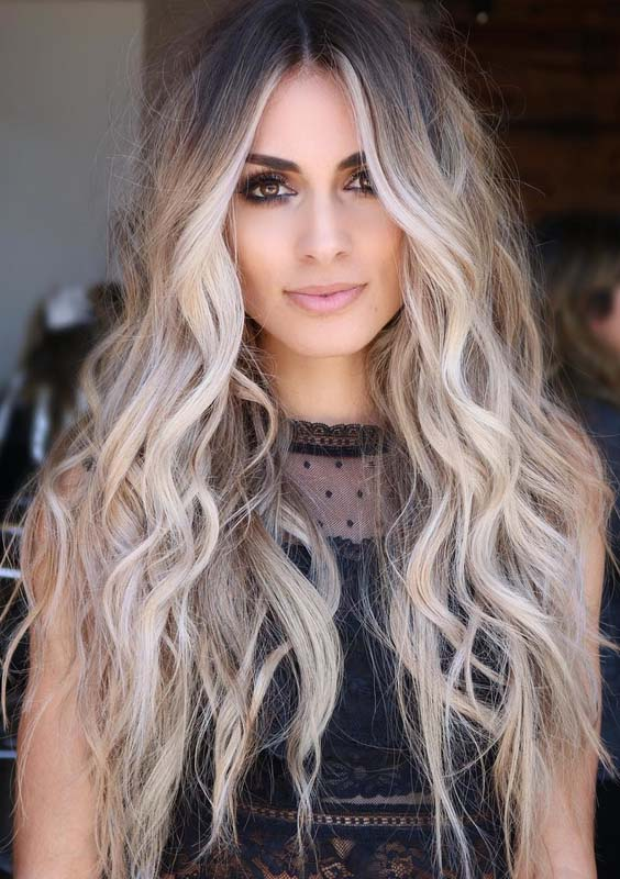 Super Gorgeous Long Blonde Hair Styles for Women 2018 ...