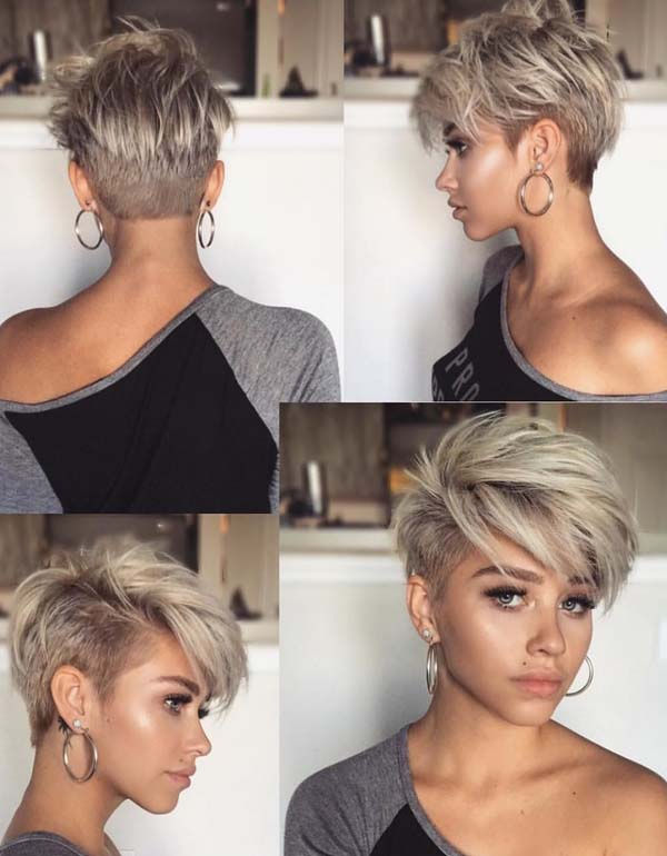 Coolest Undercut Pixie Haircuts For Short Hair In 2018 Stylesmod
