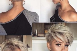 Undercut Pixie Haircuts for Short Hair in 2018