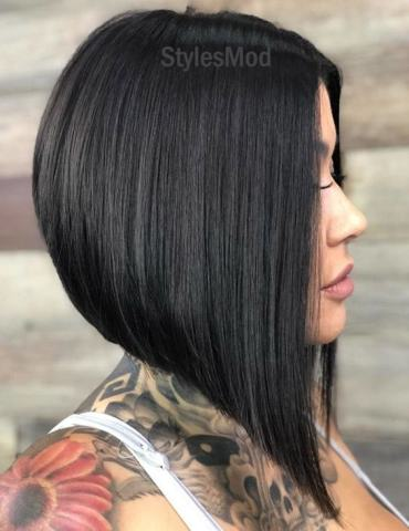Gorgeous Stacked A line Bob Haircut Trends That You'll Love