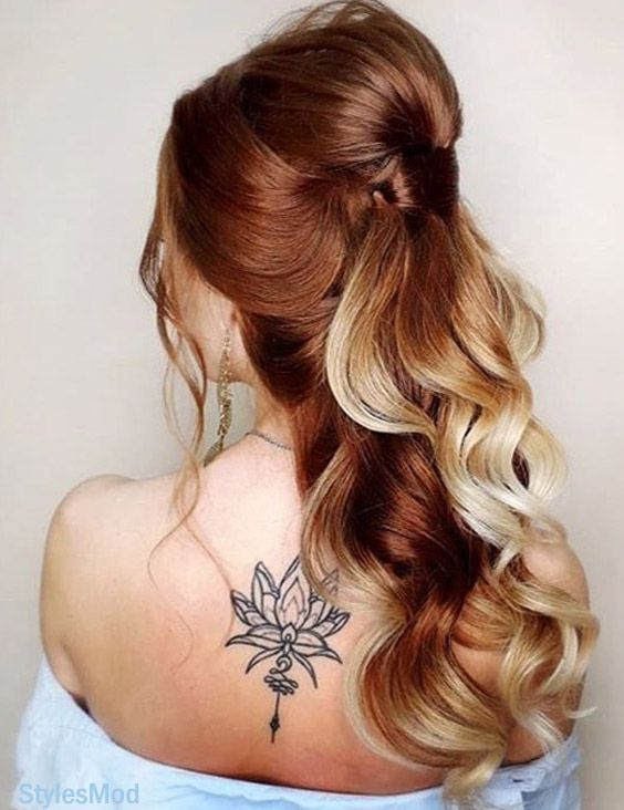 Perfect Look of Brown Hair Color Combination for Long Hair In 2019