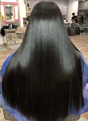 Silkpress Natural Long Hairstyles for Women 2019