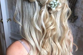 Soft Half Up Twisted Fishtail Braids in 2019