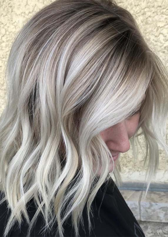 Gorgeous Vanilla Ice Blonde Hair Colors Highlights in 2019 ...