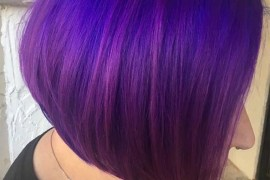Violet Tones for Bob Cuts in 2019