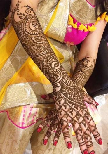 Beautiful Mehndi Designs & Patterns in 2019