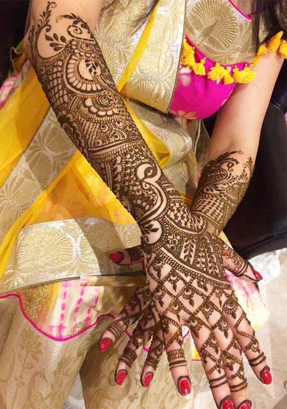 Beautiful Mehndi Designs & Patterns in 2019