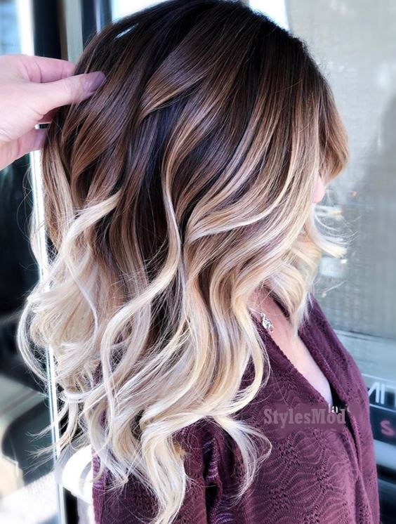 Brilliant Balayage Hair Color Highlight For 2019 Stylesmod