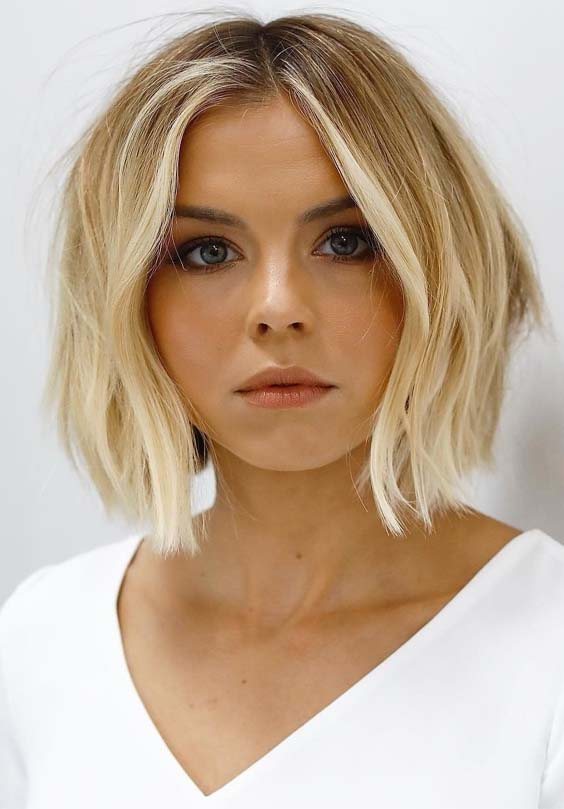 Elegant Short Bob Haircuts for Women 2019