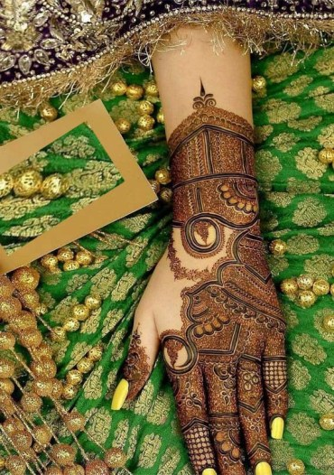 Latest Bridal Mehandi Designs for 2019