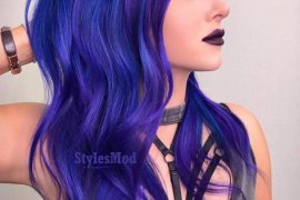Lovely Long Blue Hair Color Ideas & Images In 2019