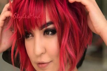 Lovely Red Bob Haircuts for Girls & Women In 2019