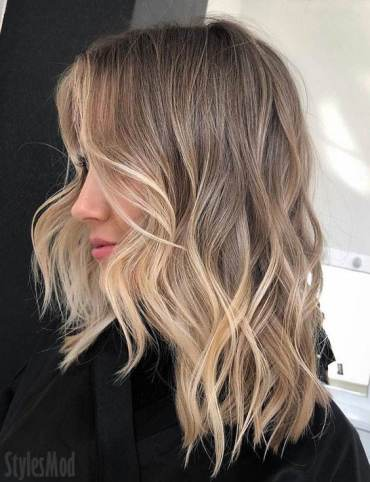 Perfect Ideas of 2019 Balayage Hairstyle To Wear Right Now