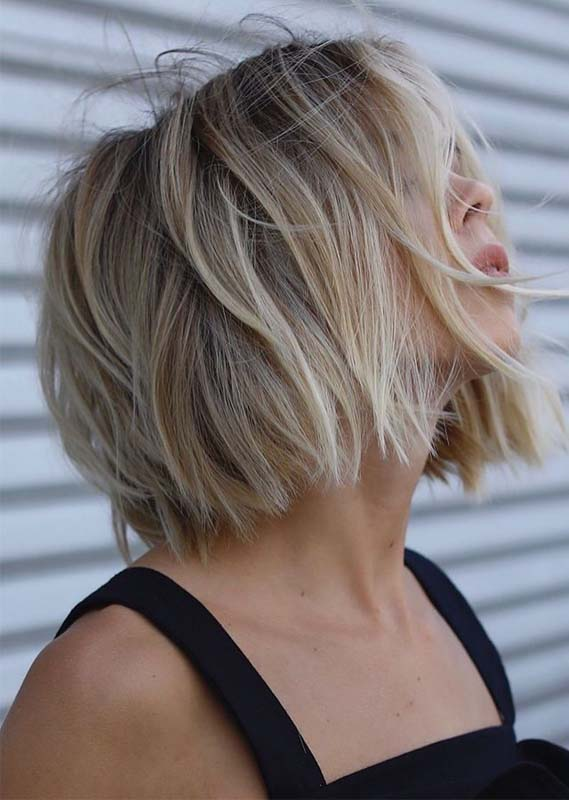 Short Bob Haircuts for Women 2019