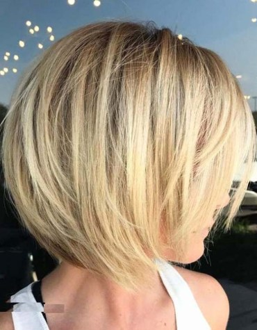 Short Stacked Bob Hairstyles for 2019