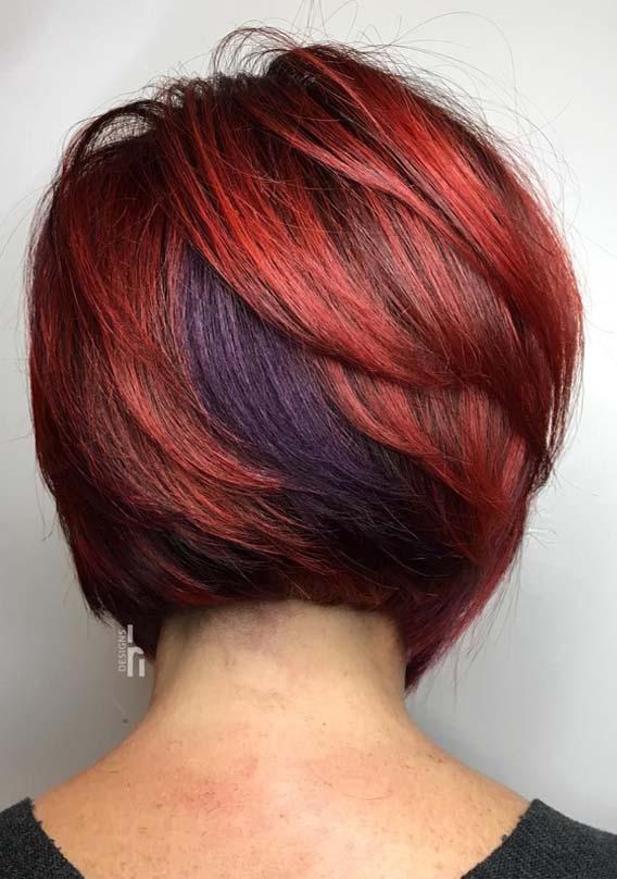 Surprising Short Bob Haircuts for Women 2019