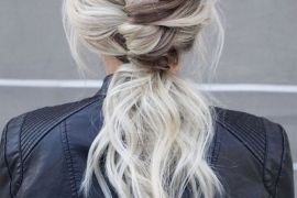 Adorable French Ponytail Hairstyles for 2019 Girls